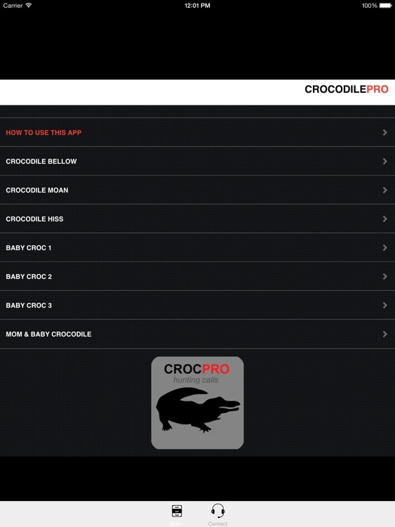 REAL Crocodile Calls & Crocodile Sounds! -- (ad free) BLUETOOTH COMPATIBLE screenshot-0