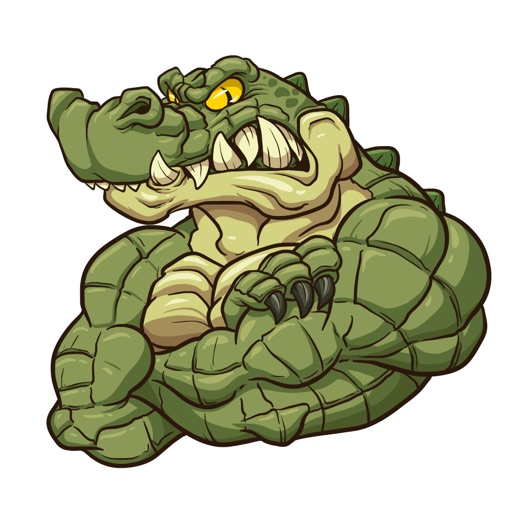 Gator Stickers
