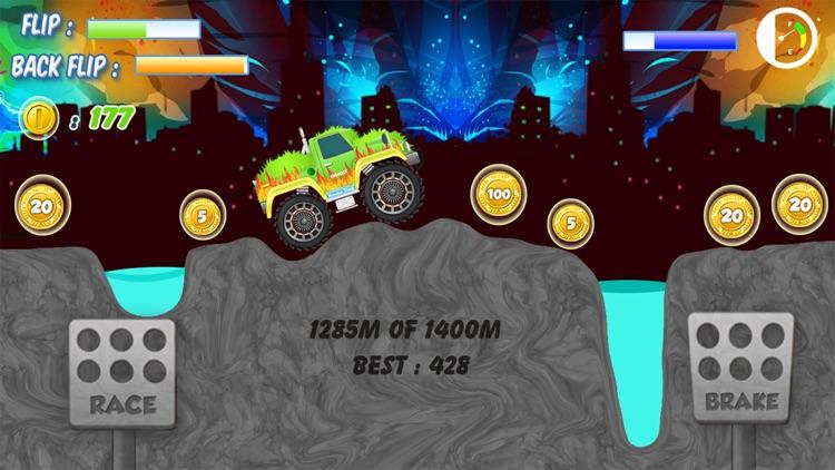 4x4 Monster Truck Jam 2016 - Tractor Destruction in Uphill Rocky Mountains screenshot-4