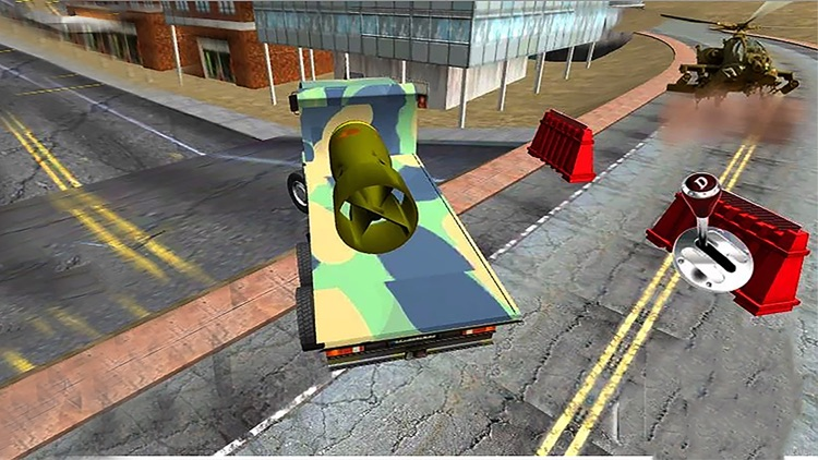 Military Cargo Transport : Army War Missile Cargo Truck Driving & Parking 3D screenshot-3