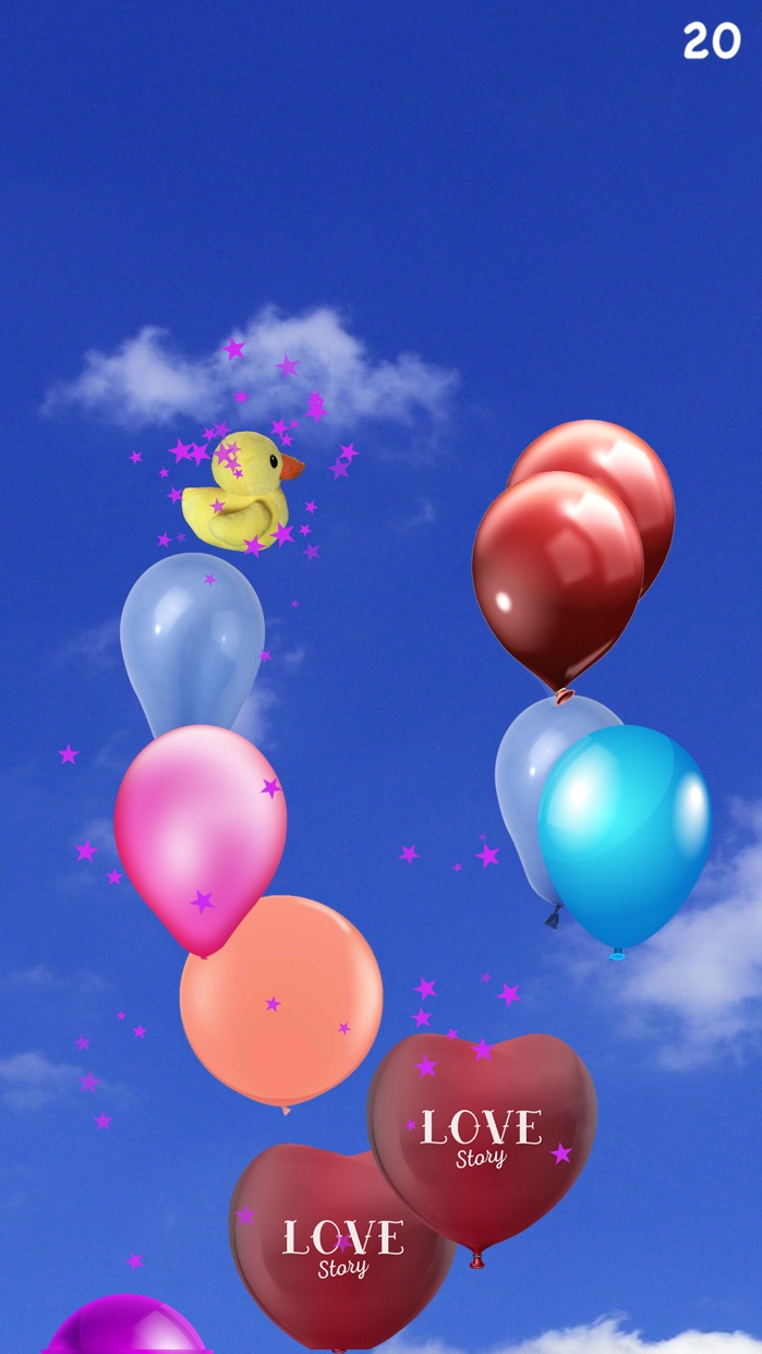 Baby Games - Balloon Pop Screenshot
