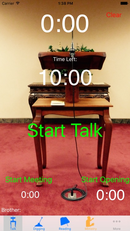 Theocratic School Timer:Life and Ministry