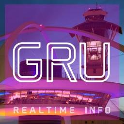 GRU AIRPORT - Realtime, Map, More - SÃO PAULO-GUARULHOS INTERNATIONAL AIRPORT