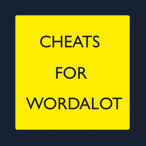 Cheats for Wordalot