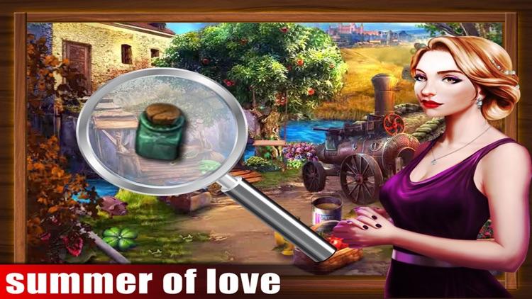 Summer Of Love Hidden Objects