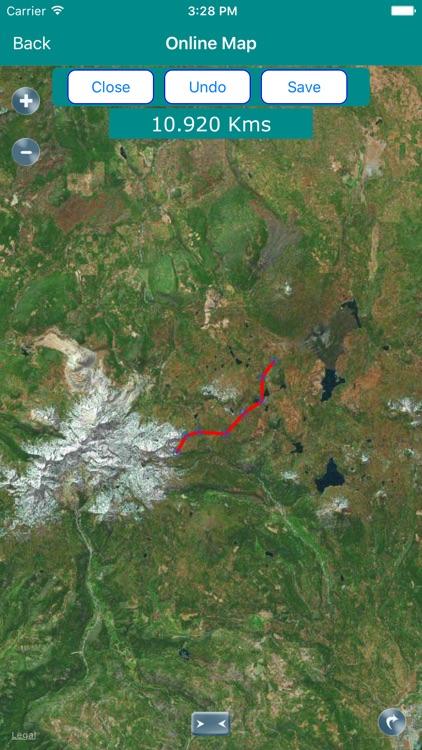 Lassen Volcanic National Park Map, California