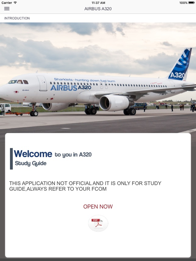a320 study guide on the app store rh itunes apple com A320 Aircraft Seating A321 Aircraft