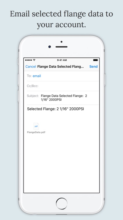 Flange Data screenshot-4