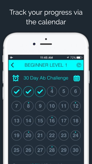 30 Day Ab Challenge On The App Store