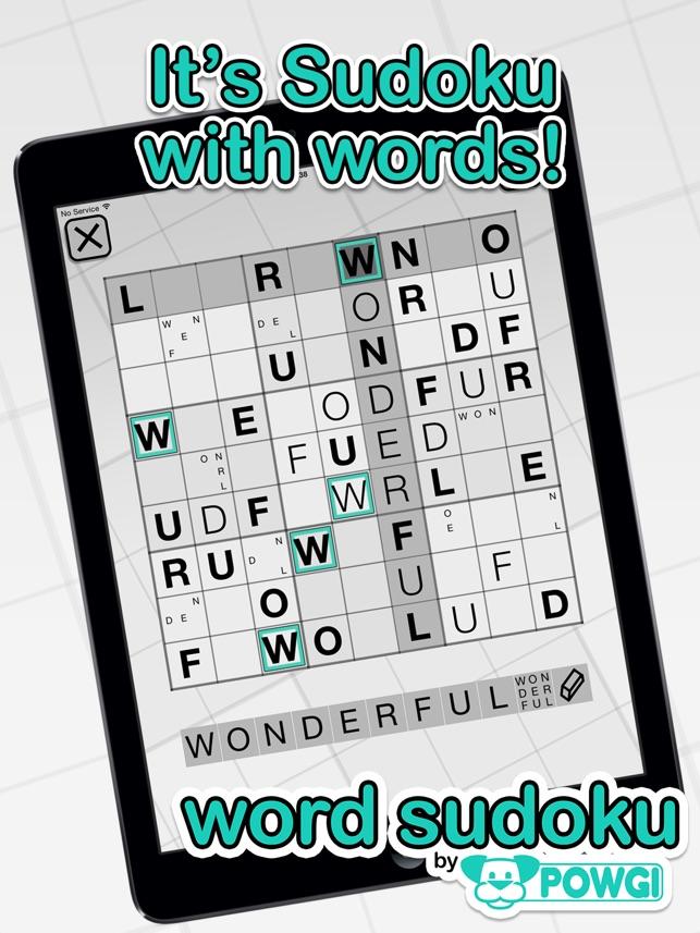 word sudoku by powgi をapp storeで