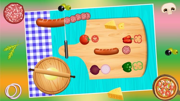 Pizza Maker Cooking Pizzeria Game screenshot-3