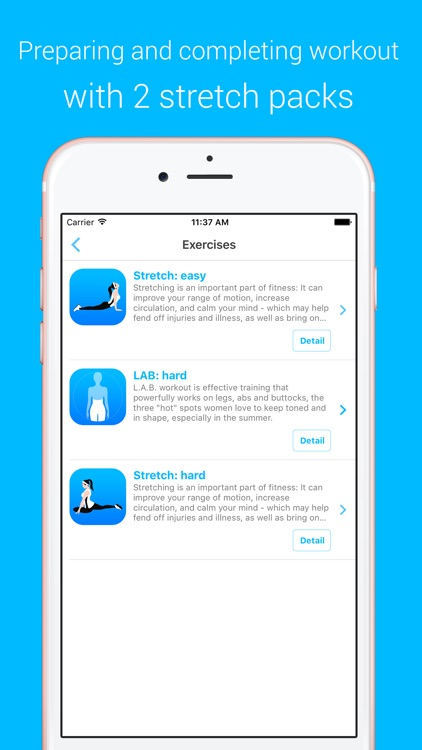 LAB Workout - LAB Workout - Your Personal Fitness Trainer for your legs, abs and buttocks screenshot-3