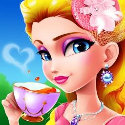 Princess Tea Party- Girls Makeup, Dressup and Makeover Game