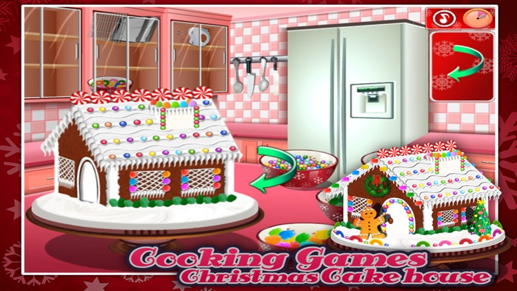 Cooking Games:Christmas Cake Hous