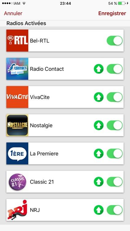 Radio Belgique: Top Radios