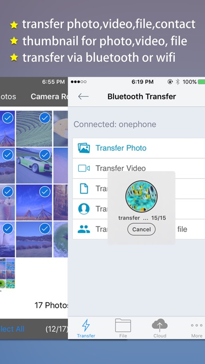 Transfer Master -Transfer photo,video,file,contact