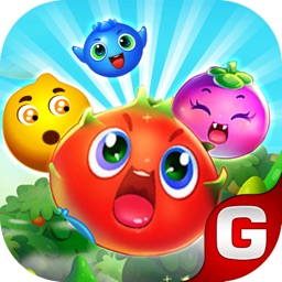 Candy Fruit Garden Story Mania - Fruit Crush Match 3 Edition