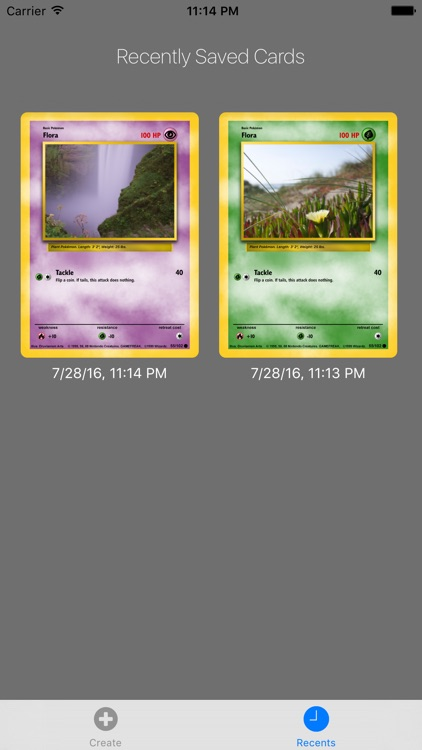 Card Builder for Pokemon screenshot-4