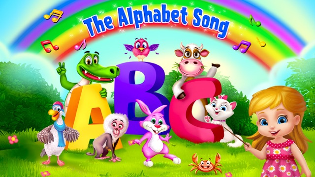The ABC Song Educational Game Screenshot