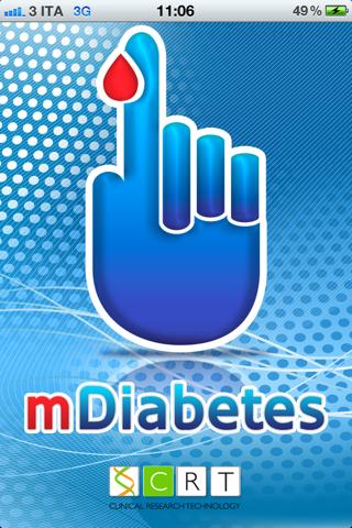 mDiabetes - náhled