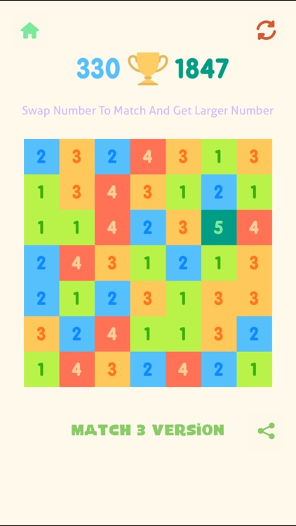 Just Match 3 - Get 10 Numbers Puzzle screenshot-3