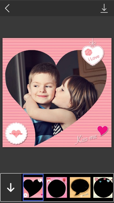 Romantic Photo Frame - Lovely Picture Frames & Photo Editor