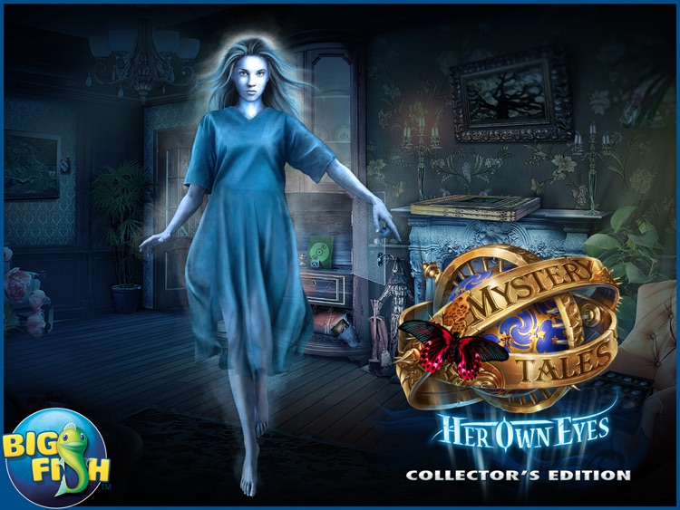 Mystery Tales: Her Own Eyes HD - A Hidden Object Mystery (Full) screenshot-4