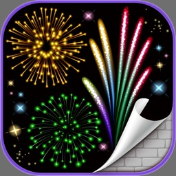 Fireworks Wallpaper – Glow.ing Background.s & Color.ful Light Show On Night Sky