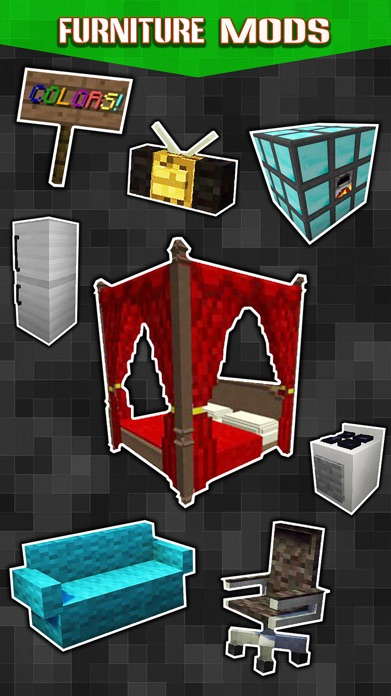 New Furniture Mods - Pocket Wiki & Game Tools for Minecraft PC Edition Screenshot