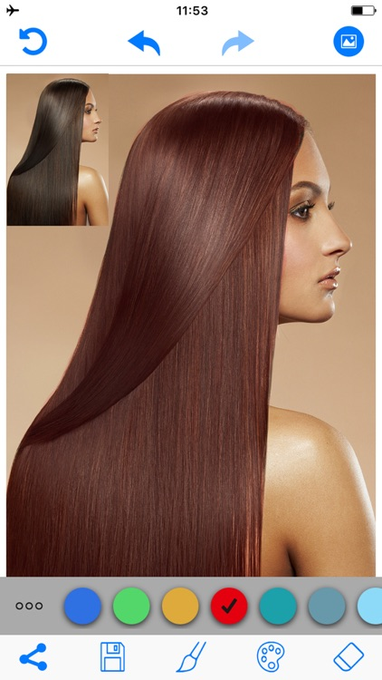 Hair Color Changer Salon Booth screenshot-2