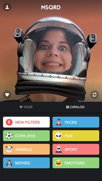 MSQRD — Live Filters & Face Swap for Video Selfies-2