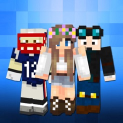 Skins For Minecraft PE Skins On The App Store - Skin para minecraft pe de navidad