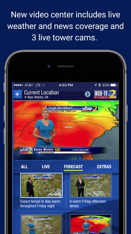 WSB-TV Weather screenshot-3