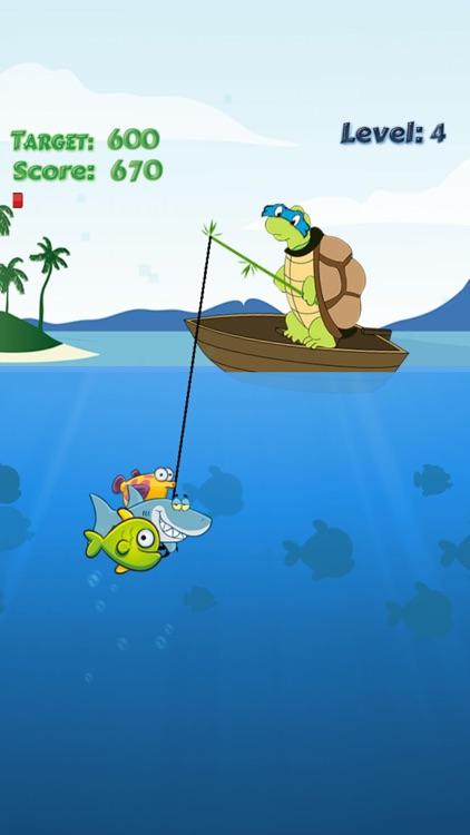 Turtle Fishing Catch a Big Fish in Deep Sea screenshot-4