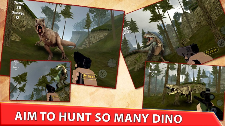 Real Dinosaur Hunter Park 2016 - Jurassic Era Carnivores Hunting season screenshot-3