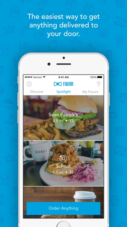 Favor - Food Delivery, Gift Shopping On Demand