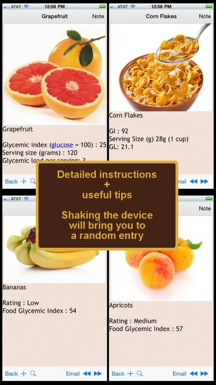 Glycemic Index and Load for Foods Plus+ screenshot-3