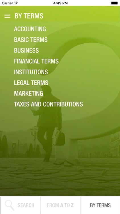 Bisnode Financial Dictionary screenshot-4