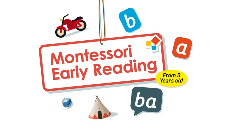 Montessori Early Reading - Phonics & Rhyme games screenshot-0