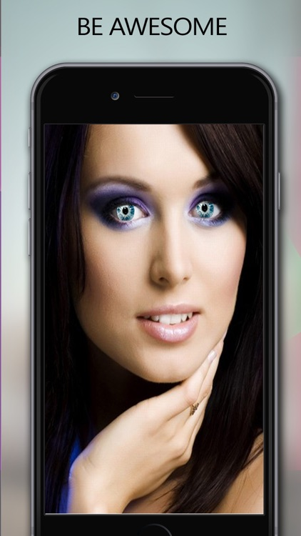Colored Eye Maker - Make Your Eyes Beautiful & Gorgeous With Pretty Photo Eye Effects