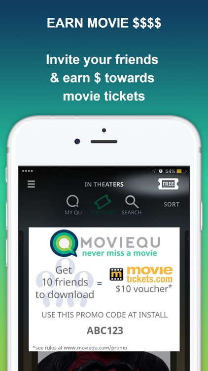 MOVIEQU: Save Upcoming Movies & Movie Theaters Tix screenshot-4