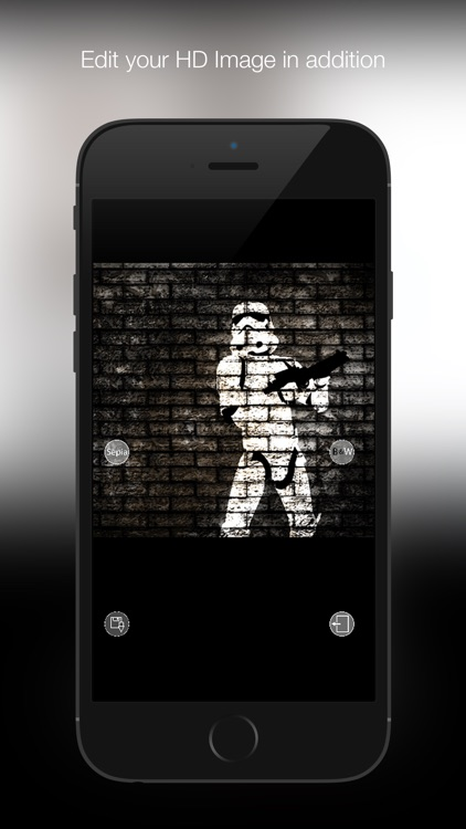 Wallpaper for StarWars: TrooperArt Edition HD screenshot-3