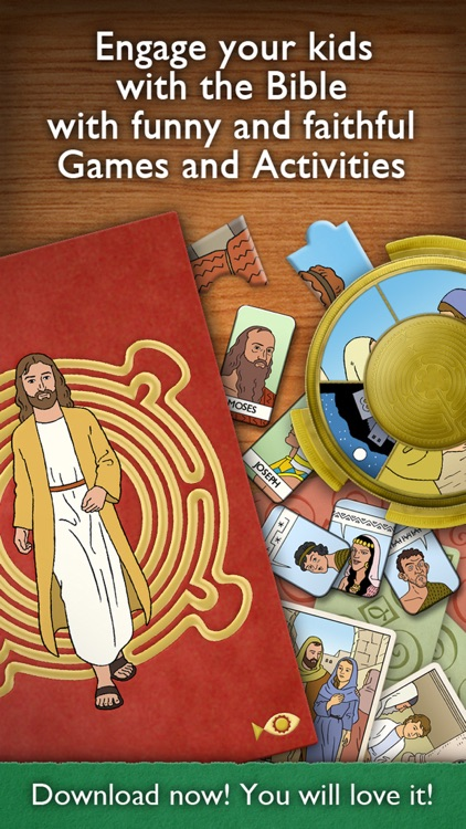 Children's Bible Games for Kids, Family and School