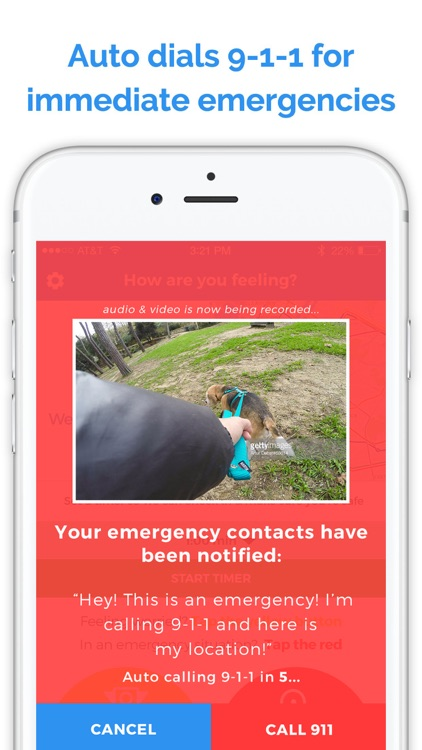 Planet 911 - Personal Safety, Security & Emergency Alert Tool - Instantly Record & Share Video Camera Messages and Audio Alerts to Your Contacts screenshot-3