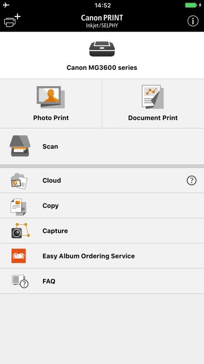 Canon PRINT Inkjet/SELPHY screenshot-0