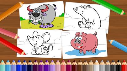 ハッピーイースター – 男の子でも女の子でも、幅広い年齢の子供が楽しめる、無料の色塗りアプリのスクリーンショット2