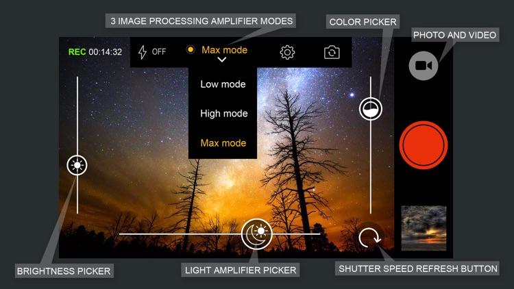 Long exposure camera WD21.Night vision photo/video