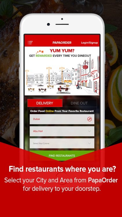 PapaOrder-Online Food Delivery