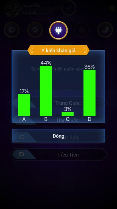 ... Ai Là Triệu Phú - Âm Thanh Sống Động Screenshot on iOS ...