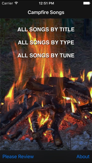 Campfire Songs on the App Store